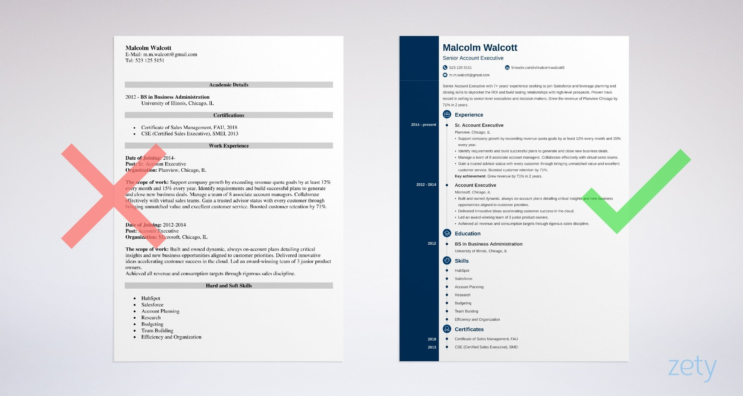 Executive Resume Template 2019 from mthomearts.com