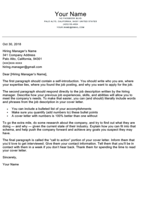 Application Letter Template | | Mt Home Arts