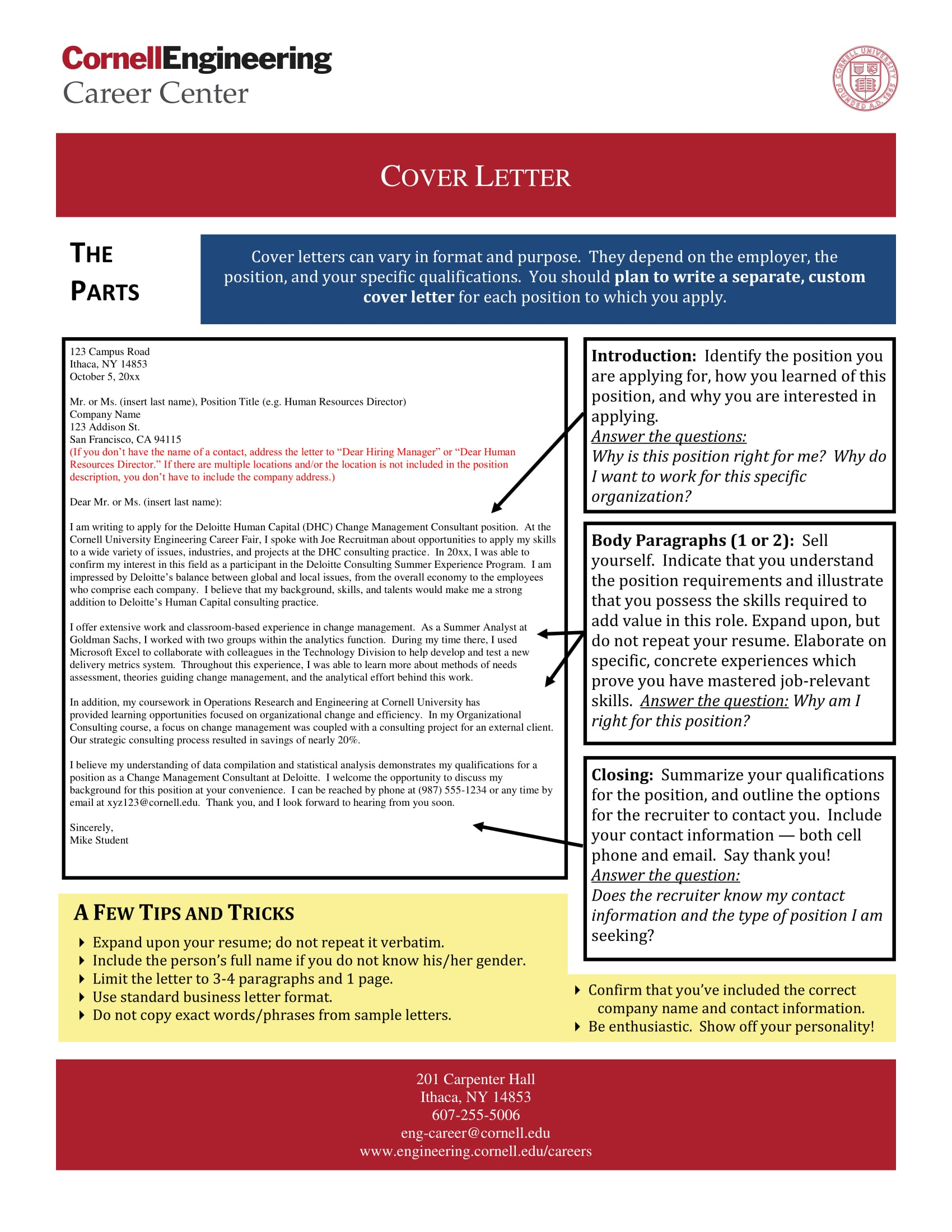 Attention Grabbing Cover Letter Mt