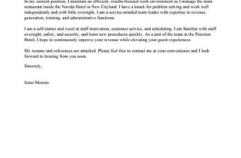 Chaperone Cover Letter Sample | | Mt Home Arts