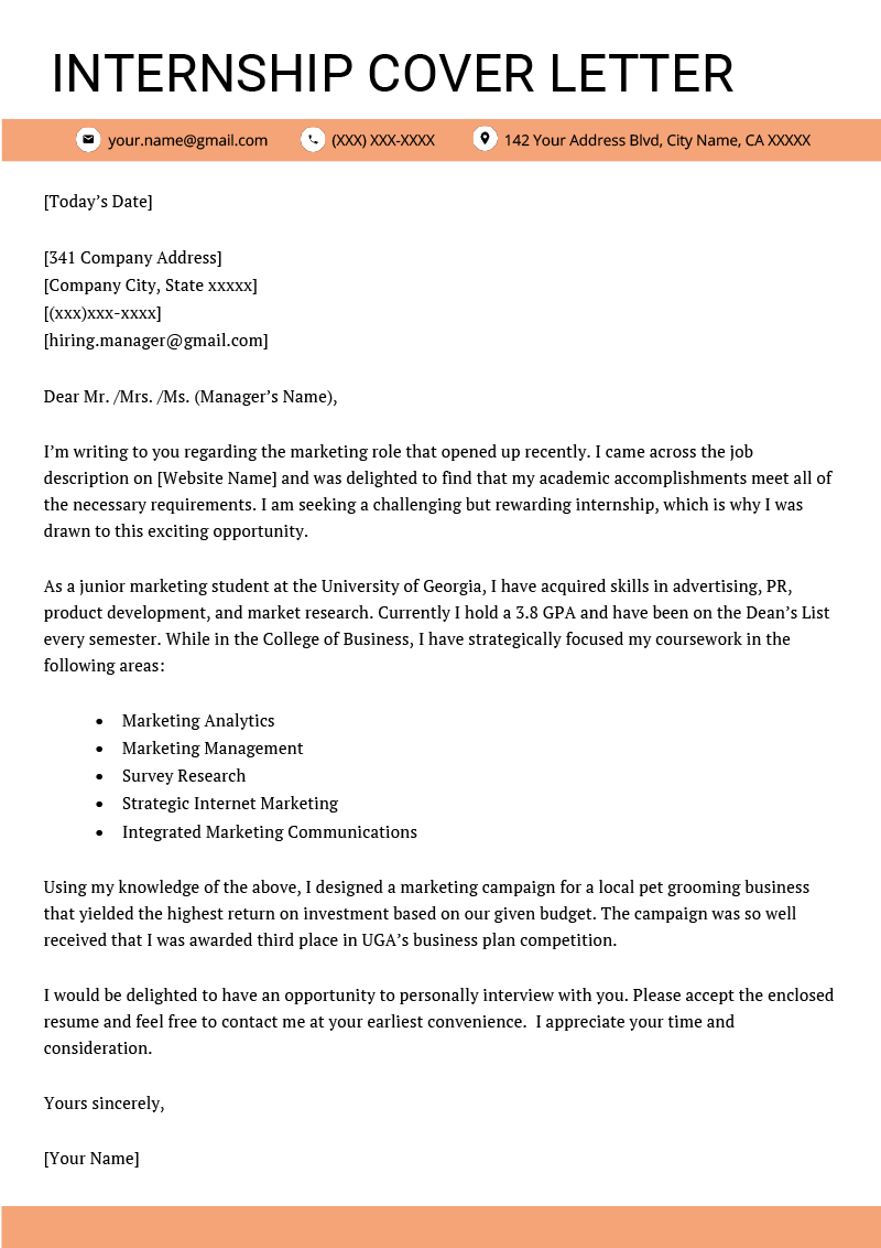 Cover Letter Examples For Students from mthomearts.com