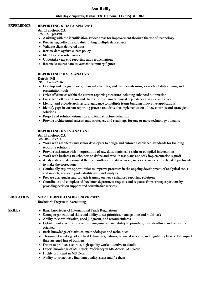 Data Analyst Resume Examples Mt Home Arts