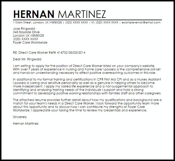 Dock Worker Cover Letter Sample | | MTHOMEARTS COM