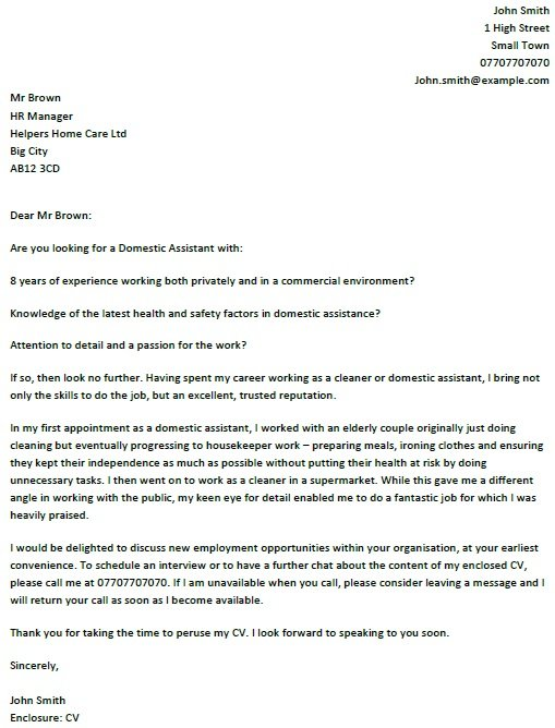 domestic-worker-cover-letter-sample-domestic-istant-cover-letter Sample Application Letter For A Cleaner Job on