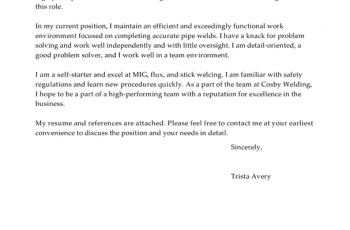 Environmental Service Worker Cover Letter Sample     MTHOMEARTS.COM