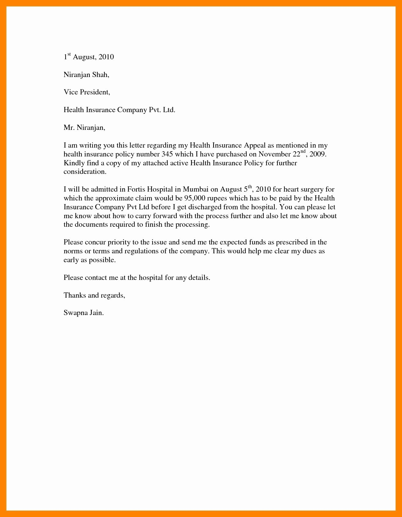 Writing An Appeal Letter from mthomearts.com