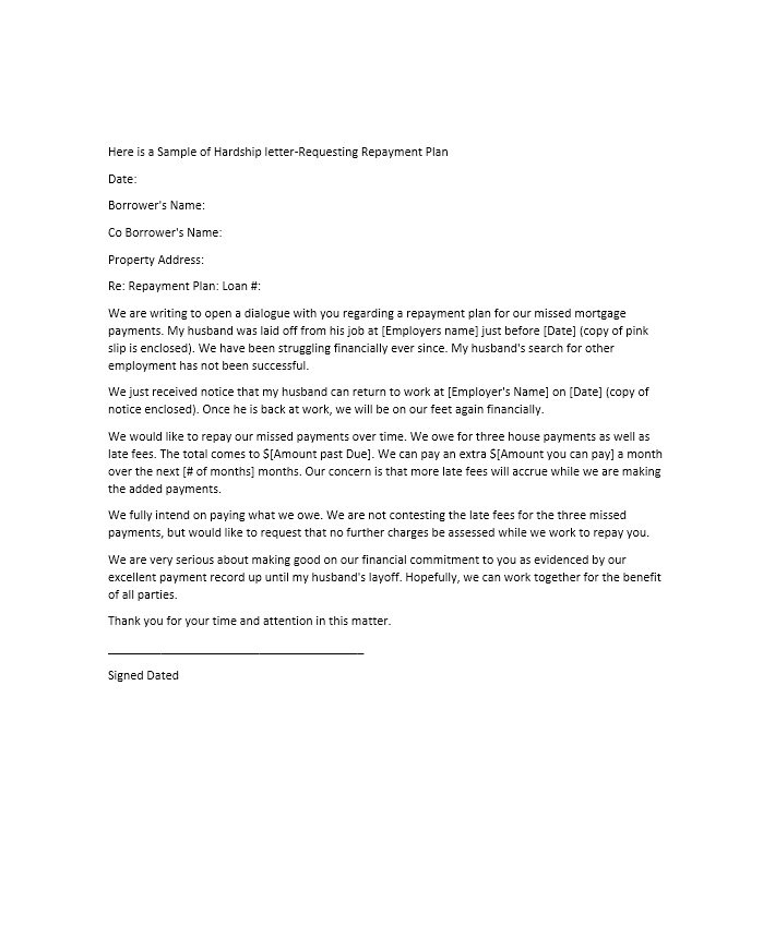 Sample Of Hardship Letter For Loan Modification from mthomearts.com