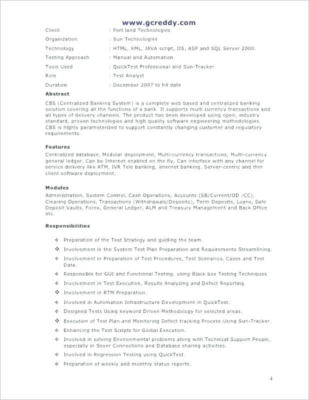 financial services advisor resume