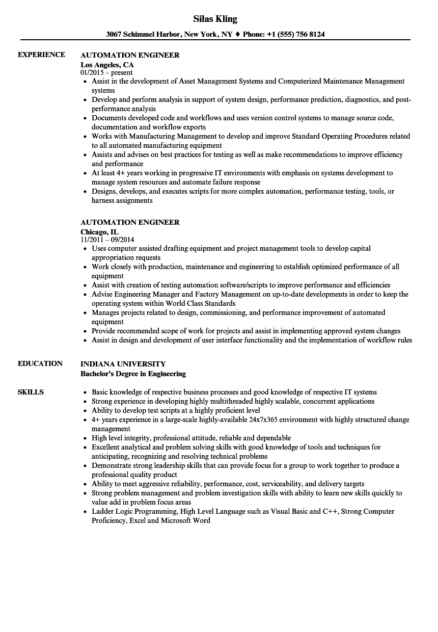 web integrator technician resume