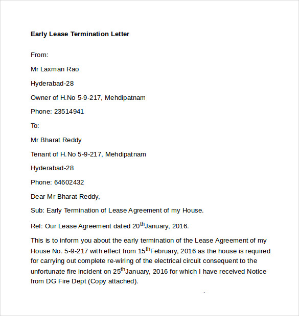 Lease Termination Letter Landlord To Tenant from mthomearts.com