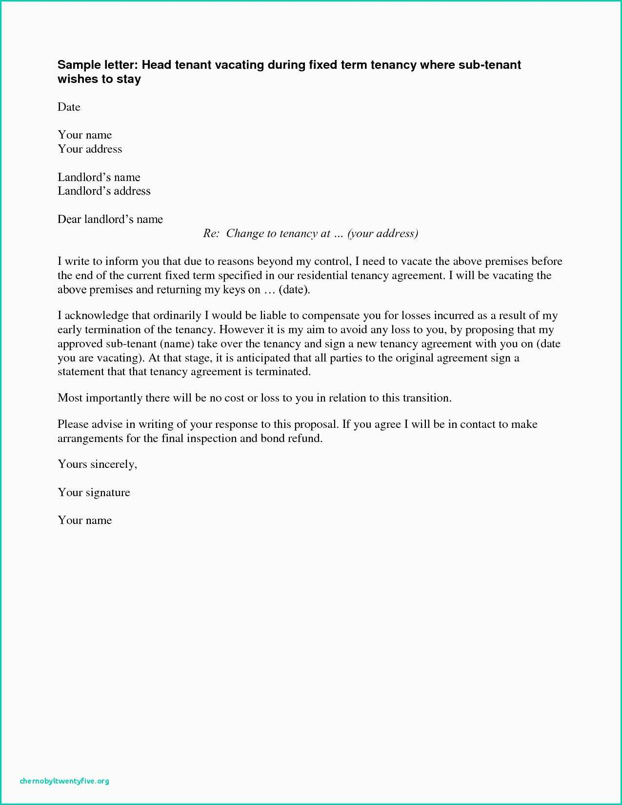 Sample Letter To Break Lease from mthomearts.com