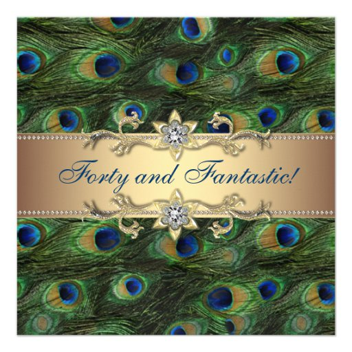 Peacock Invitations Template Free from mthomearts.com