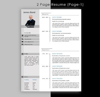 Modern Resume Format Mt Home Arts