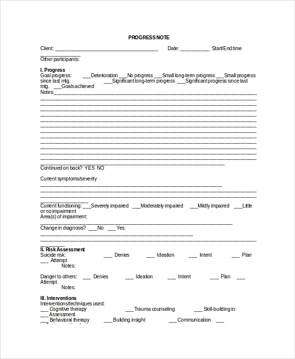Counseling Case Notes Template from mthomearts.com